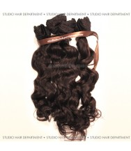 Indian Virgin Cuticle Remy Wefts Chocolate Wavy